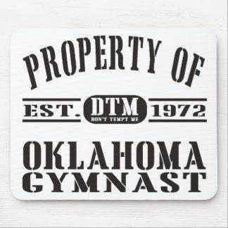 Gymnast de Oklahoma Mouse Pads