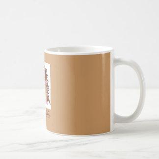 H é para o ouriço caneca de café