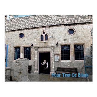 Ha-Ari Ashkenazi Shul - Safed Cartão Postal