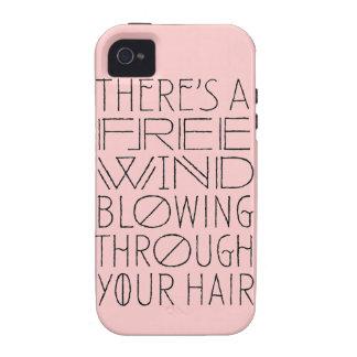 Há um vento livre através de suas capas de iphone capas para iPhone 4/4S