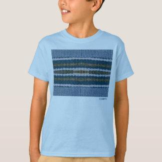 HAMbWG - camisa do T das crianças - azul do
