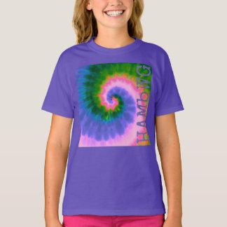 HAMbWG - camisa do T das crianças - tintura do