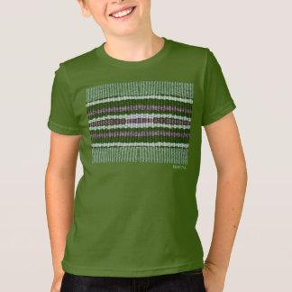 HAMbWG - camisa do T das crianças - verde do