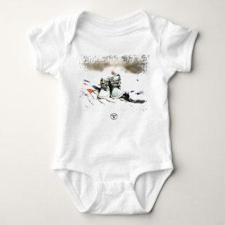 HAMbyWG - t-shirt ou pressão do bebê - calçados