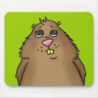 Hamster carnudo Mousepad