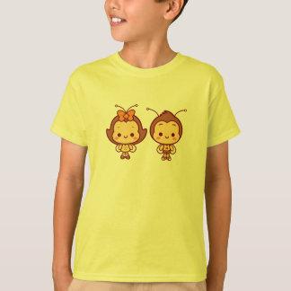 Hana & camisa dos miúdos de Hachi