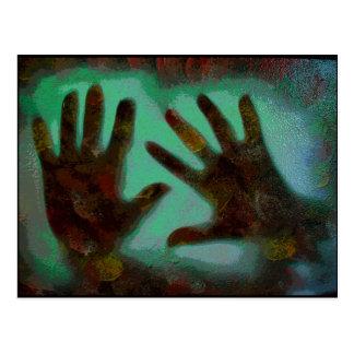 Handprints Cartao Postal