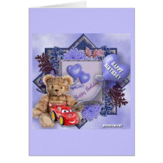 Happy Birthday - Boy Cartão Comemorativo