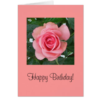 Happy Birthday! Cartão Comemorativo