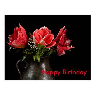 Happy Birthday Cartão Postal