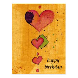 happy birthday cartões postais