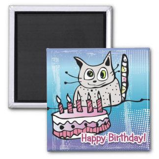 Happy Birthday Cat - íman