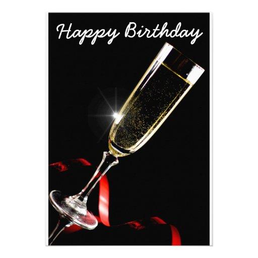 Happy Birthday Convite Personalizados