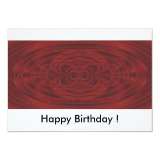 Happy Birthday! Convite 12.7 X 17.78cm
