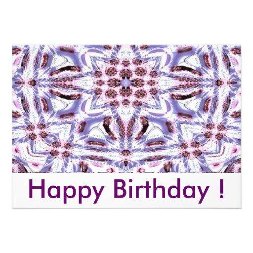 Happy Birthday! Convite Personalizado