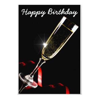 Happy Birthday Convite 12.7 X 17.78cm