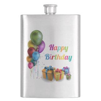 Happy Birthday homem de plano Cantil