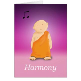 Harmonia Cartão Comemorativo