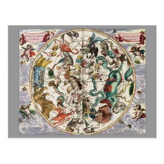 Harmonia celestial cartão postal
