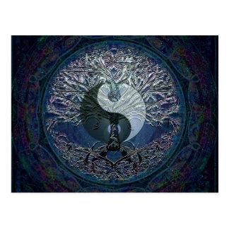 Harmonia, equilíbrio, tranquilidade cartão postal