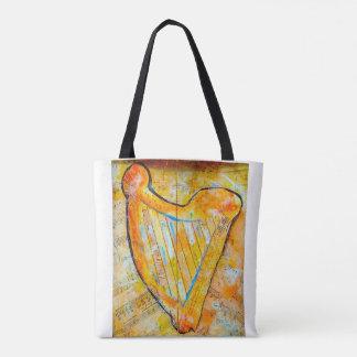 harpa do ouro bolsa tote