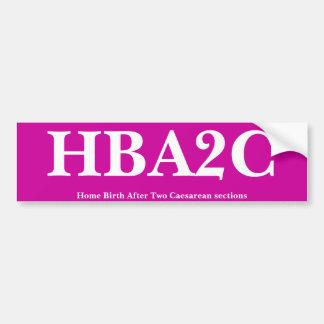 HBA2C ADESIVO PARA CARRO