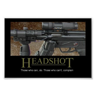 Headshot Pôsteres