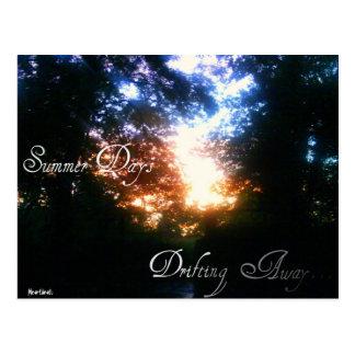 Heartbeatz: Cartão dos dias de verão Cartão Postal