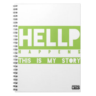 HELLP acontece caderno (o verde)