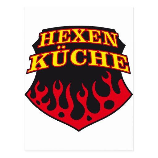 Hell's Kitchen Cartoes Postais