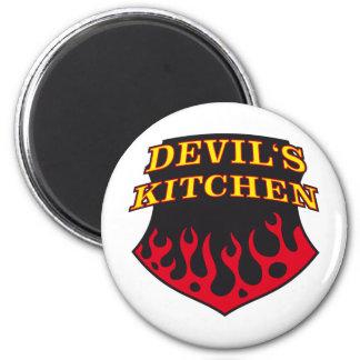 Hell's Kitchen Ímã Redondo 5.08cm