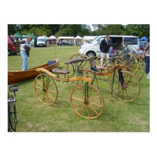 Henley em Tamisa, bicicletas antigas 1 Cartao Postal