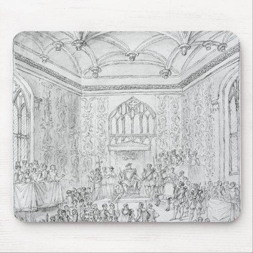 Henry VIII Montmorency de recepção Mousepad