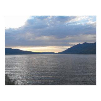 Henrys do parque estadual do lago - Idaho Cartão Postal