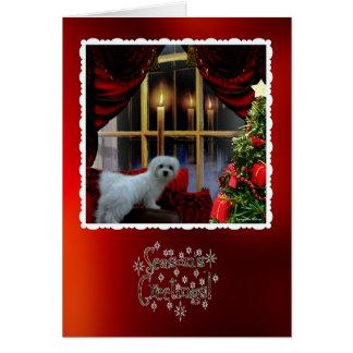 Hermes o cartão maltês do Natal