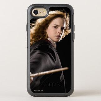Hermione Granger pronto para a ação Capa Para iPhone 7 OtterBox Symmetry
