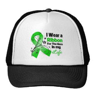 Herói colagogo da fita do cancer em minha vida boné