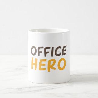 Herói do escritório caneca de café