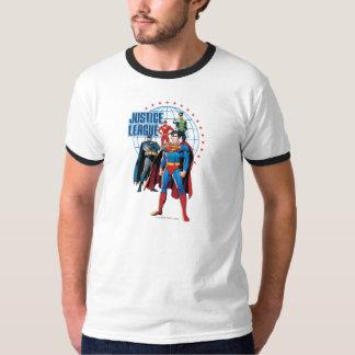 Heróis globais da liga de justiça tshirts