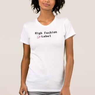 HFL, etiqueta da forma alta Camisetas