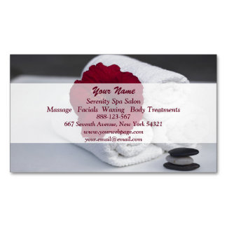 Hibiscus de toalhas da massagem do salão de beleza