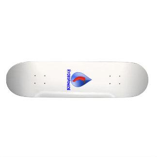 Hidroponia azul do texto da gota azul do pimento shape de skate 20cm