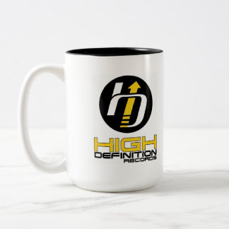 High Definition Records Coffee Cup Caneca Dois Tons