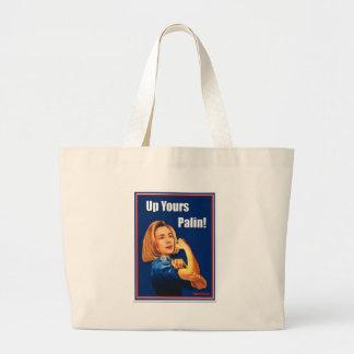 Hillary Clinton, Rosie o rebitador, acima de seu P Bolsas De Lona
