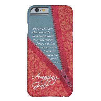 Hino surpreendente da benevolência - design floral capa barely there para iPhone 6