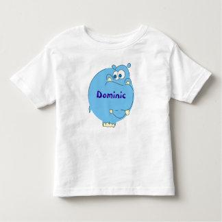Hipopótamo bonito t-shirt conhecidos