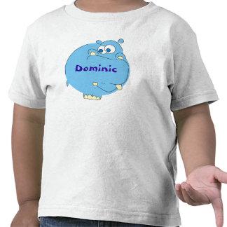Hipopótamo bonito t-shirt conhecidos personalizado