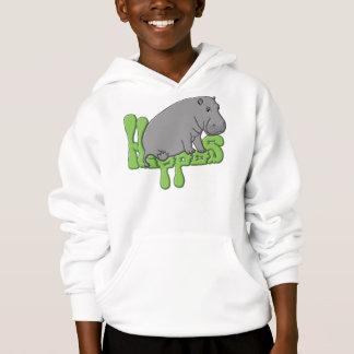 Hipopótamo pesado - verde t-shirt