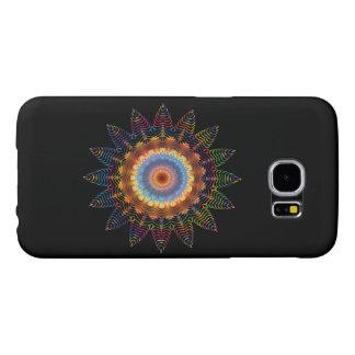 Hippie Boho tribal do design da arte abstracta da Capas Samsung Galaxy S6