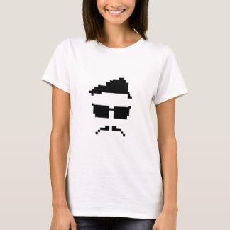 hipster de 8 bits camiseta